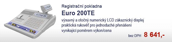 Registrační pokladna Euro 200TE