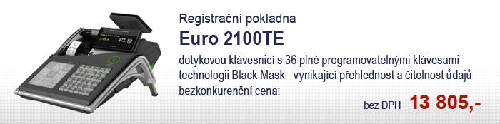 Registrační pokladna Euro 2100TE