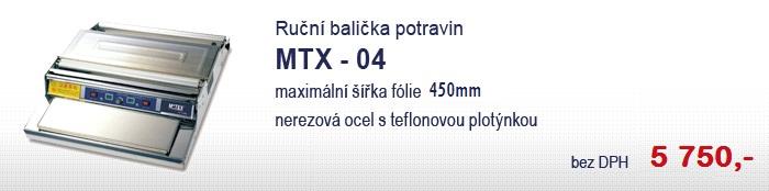Ruční balička potravin MTX-04