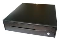 Pokladní zásuvka CD-950, RS-232 se zdrojem, černá